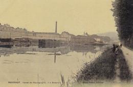 Côte-d'Or - Montbard - Canal De Bourgogne, Le Bassin - Montbard