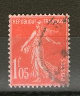 N° 195° _Tres Bon Centrage_cote 6.30 - 1906-38 Semeuse Camée