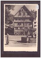 GRÖSSE 10x15 - ST GALLEN - AM GALLUSPLATZ - TB - SG St. Gallen