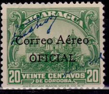 Nicaragua, 1932, Airmail. Correo Aereo, 20c, Used - Nicaragua