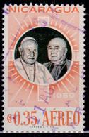 Nicaragua, 1959, Airmail. Visit Cardinal Spellam, 35c, Used - Nicaragua