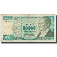 Billet, Turquie, 50,000 Lira, 1970, 1970-01-14, KM:203a, TB+ - Turkey