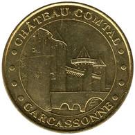 11-0528 - JETON TOURISTIQUE MDP - Château Comtal De Carcassonne - 2016.5 - 2016