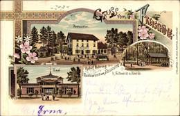 Lithographie Schwerte Im Ruhrgebiet Kreis Unna, Restauration Zum Freischütz, Inh. Rudolf Nehring - Other