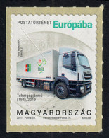 Iveco TRUCK Post Packet Parcel  /  Hungary 2021 Self Adhesive - For EUROPE Europa - MNH - LKW
