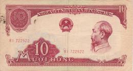 BILLETE DE VIETNAM DE 10 DONG DEL AÑO 1958 (BANKNOTE) - Vietnam