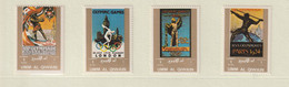Umm Al Qiwain 1973 Olympic History Part Set Four Stamps MNH/** (H56) - Other
