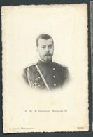 S. M. L'Empereur Nicolas II  Obe3695 - Familles Royales