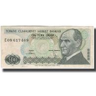 Billet, Turquie, 10 Lira, 1970, 1970-01-14, KM:192, TB+ - Turkey