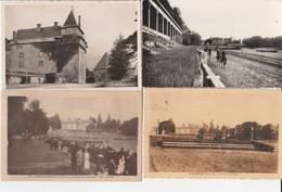 Lot De 7 Cartes Pompadour (Corrèze) / Château - Champ De Courses - Non Classificati
