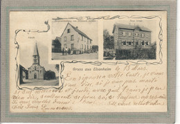 CPA - (67) ELSENHEIM - Carte GRUSS Multivues De 1910 - Epicerie Schmitt Et Nouvelle Ecole - Andere Gemeenten