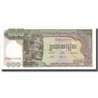 Billet, Cambodge, 100 Riels, UNDATED (1956-75), KM:8b, NEUF - Cambodia
