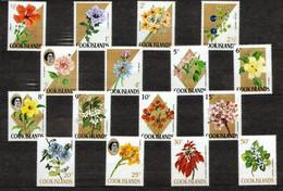 Cook Islands 1967 Mi 152-167 Flowers - MNH - Cook Islands