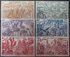 R2452/1369 - 1946 - COLONIES FR. - INDE - POSTE AERIENNE - SERIE COMPLETE - N°11 à 16 NEUFS* - Ongebruikt