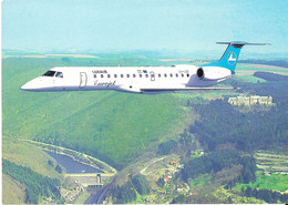Luxembourg Airlines / LUXAIR - Eurojet ERJ145 Au-dessus De Vianden - Vianden