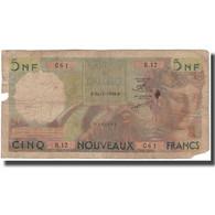Billet, Algeria, 5 Nouveaux Francs, 1959, 1959-07-31, KM:118a, B - Algeria