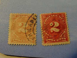 ETATS-UNIS TAXE  1894-1925 - Collections