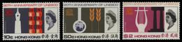 Hongkong 1966 - Mi-Nr. 224-226 ** - MNH - UNESCO (I) - Ungebraucht