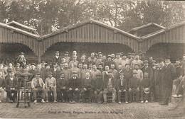 TOULOUSE FETE DE FAMILLE DE FIRMIN PONS A L ADMINISTRATION DES TRAMWAYS  EN 1910  FORGES ATELIERS ET VOIE AERIENNE - Toulouse