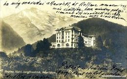 Interlaken - Regina Hotel Jungfraublick 1930 - BE Berne