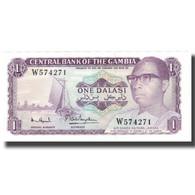 Billet, The Gambia, 1 Dalasi, KM:4g, NEUF - Gambia