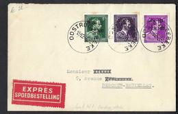 Envoi Exprès. 1946. De Oostroozebeke  Vers Bruxelles. - Covers & Documents