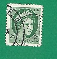 1954 N° 268 ELIZABETH II  2 C.  OBLITÉRÉ - Usados