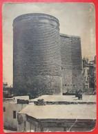 J2- Asia, Azerbaijan Vintage Postcard- Baku, Maiden Tower , Баку,  Девичья Башня, - Azerbaïjan