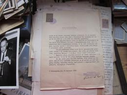 Petrovgrad Zrenjanin  Fabrika Strojeva I Kotlova 1939 Tax Stamps - Autres