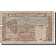 Billet, Algeria, 100 Francs, 1945, 1945-06-20, KM:85, TB - Algeria
