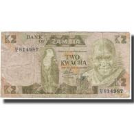 Billet, Zambie, 2 Kwacha, KM:24b, TB - Zambia