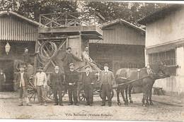 TOULOUSE FETE DE FAMILLE DE FIRMIN PONS A L ADMINISTRATION DES TRAMWAYS  EN 1910 VOIE AERIENNE - Toulouse
