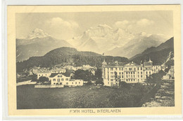 Interlaken - Hotel Eden - BE Berne