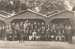TOULOUSE FETE DE FAMILLE DE FIRMIN PONS A L ADMINISTRATION DES TRAMWAYS  EN 1910 PEINTRES BOURRELIERS ET TAILLEURS - Toulouse