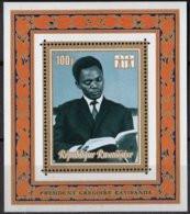 Rwanda Ruanda 1973 OCBn° Bloc 28 *** MNH Cote 3,50 € President Kayibanda - 1970-79: Mint/hinged