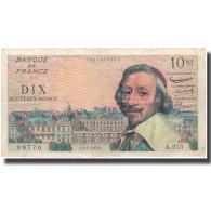France, 10 Nouveaux Francs, Richelieu, 1963, 1963-01-04, TB+, Fayette:57.22 - 10 NF 1959-1963 ''Richelieu''