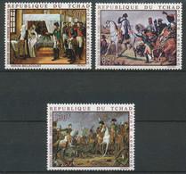 NB - [72400]TB//**/Mnh-Tchad 1969, 200 Ans De Napoléon, Timbres Aériens, Série Complète. - Napoleon