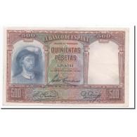 Billet, Espagne, 500 Pesetas, 1931, 1931-04-25, KM:84, TTB+ - 500 Pesetas