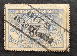 TR17 - Gestempeld RECHTHOEK GITS - 1895-1913