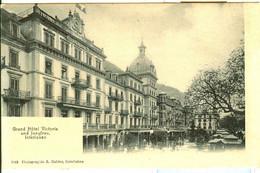 Interlaken - Hôtel Victoria + Ca. 1910 - BE Berne