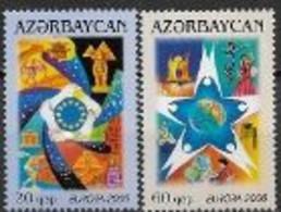 Azerbadjan 2006 N° 538/539 Neufs Europa L'intégration - 2006