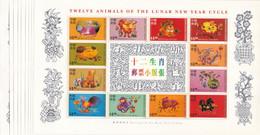 Hong Kong Nº 882 Al 893 - 10 Hojas - Neufs