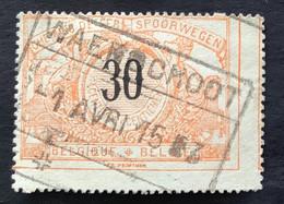 TR19 - Gestempeld WAERSCHOOT - 1895-1913