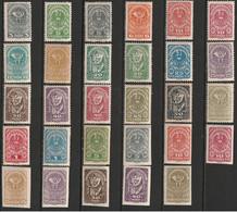 Autriche N° 188 - 205 * Et 206 - 213 ** - Unused Stamps