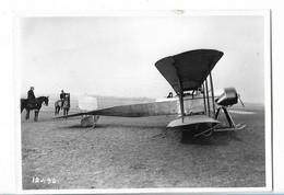 Retirage  Photo Aviation Avion  Biplan Paul Schmitt - Luchtvaart