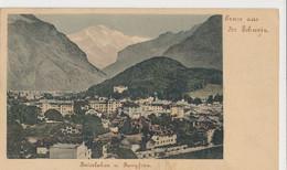 Interlaken - Und Jungfrau 1899 Stempel - BE Berne