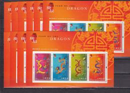 Hong Kong Hb 68 - 10 Hojas - Blocs-feuillets