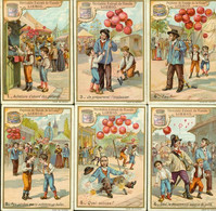 LIEBIG : S_0565 : '(Marchand De Ballons Et Les Deux Garnements - Liebig