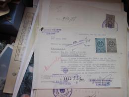 Ljubljana Patentna Spisarna 1958 Tax Stamps - Autres