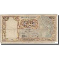 Billet, Algeria, 1000 Francs, 1957, 1957-09-05, KM:107b, B+ - Algeria
